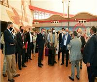 صور| 30 سفيرًا لدى مصر في جولة تفقدية بمطار شرم الشيخ الدولي