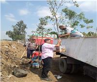 استجابة للمواطنين  محافظ القليوبية يوجه بتطوير طريق مشتهر - نامول بمدينة طوخ