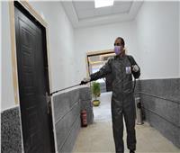 حملة مكبرة لتعقيم وتطهير ديوان عام محافظة الغربية