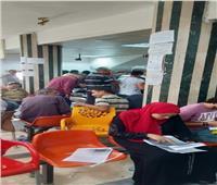 صور| تزاحم في المركز التكنولوجي بشبرا الخيمة لتقديم التصالح في مخالفات البناء
