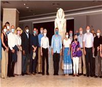 وزير السياحة و30 سفيرا أجنبيا في زيارة إلى متحف شرم الشيخ استعدادا لافتتاحه