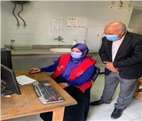 وكيل صحة الغربية يتابعالكشف على الحالات بالمنازل في المبادرة الرئاسية 100 مليون صحة