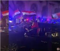 بالفيديو| احتفالات المصريين مع الشرطة في الشوارع بهزيمة دعوات الإخوان