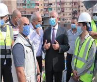 7 حارات بكل اتجاه.. وزير النقل يتابع معدلات تطوير الطريق الدائري| صور