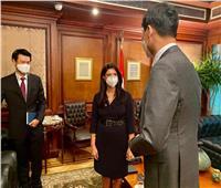 المشاط تبحث مع سفير كوريا الجنوبية الجديد بالقاهرة مجالات التعاون المستقبلية