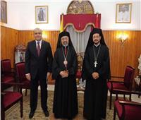 بطريرك الكاثوليك يستقبل السفير الجديد لمصر في هولندا