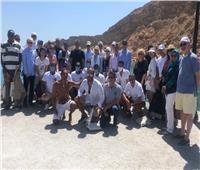 وزير السياحة في رحلة بحرية بشرم الشيخ مع 30 سفيرا أجنبيا
