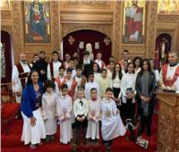 احتفالية كنيسة الأنبا أرسانيوس بهولندا بعيد تأسيسها
