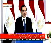 فيديو| الملا: تحويل مصر لمركز إقليمي لتجارة وتداول البترول والغاز