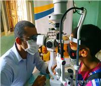 الكشف على عيون 500 مواطن بقرى حياة كريمة بالأقصرضمن مبادرة «طاقة نور»