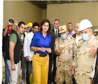 صور| وزيرة الهجرة تتفقد مبنى الوزارة بالعاصمة الإدارية الجديدة