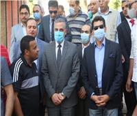 وزير الشباب والرياضة يتفقد مركز شباب مدينة ناصر بسوهاج وأعمال التطوير بمركز التعليم المدني