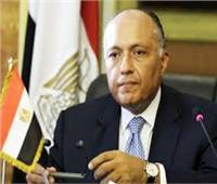شكري يستقبل وزير خارجية الدنمارك بالقاهرة