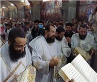 مطران شبرا الخيمة يفتتح كنيسة الأنبا موسى الأسود والشهيدة أبوللونيا