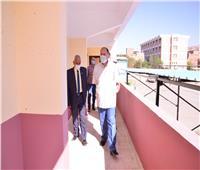 محافظ أسيوط يتفقدتطوير المبنى الإداري وورش وحدة الإنقاذ السريع التابعة للمحافظة