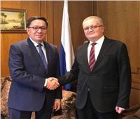في لقاء سفيري روسيا وكازاخستان.. بحث مفاوضاتمصر مع الاتحاد الأوراسي