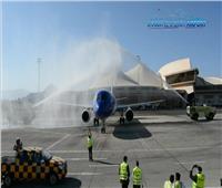 صور| مطار شرم الشيخ يستقبل أولى رحلات air moldova بعد استئناف الحركة الجوية