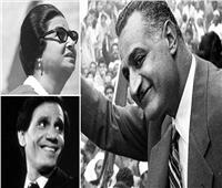 في ذكرى رحيله .. فنانون جمعتهم صداقة قوية بالزعيم  «جمال عبدالناصر»