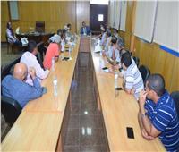 جامعة سوهاج تشارك في انطلاق ملتقي التوظيف الافتراضي الأول