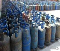 أمن القليوبية يضبط 34 ألف اسطوانة بوتاجاز قبل بيعها في السوق السوداء