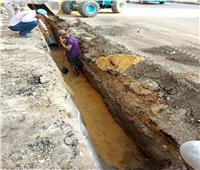 ٢,٥ مليون جنيه لإحلال وتجديد شبكات مياه الشرب بشارع أسيوط سوهاج