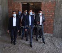 صور..عبدالغفار: مستشفى الطوارئ بجامعة كفر الشيخ ساكون الأكبر في الدلتا