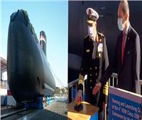 القوات البحرية تحتفل بتدشين الغواصة الألمانية الرابعة «S 44»
