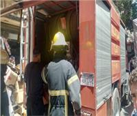 إخماد حريق نشب في شقة سكنية بالمطرية دون وقوع أي إصابات