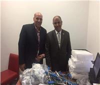 إحباط تهريب 5500 قطعة من الأجهزة الطبية بمطار برج العرب