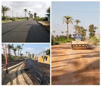 صور| محافظة الجيزة تبدأ أعمال رصف محاور مرورية بأوسيم