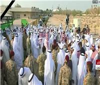 شاهد| جثمان أمير الكويت يصل مثواه الأخير استعدادا لبدء مراسم الدفن