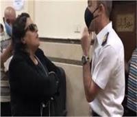 دفاع ضابط واقعة الاعتداء: المتهمة ليست «سيدة المحكمة»