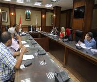 نائب محافظ سوهاج يترأس اجتماع لجنة مراجعة تراخيص البناء