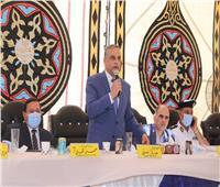 """محافظ سوهاج ومدير الأمن يشهدان صلح عائلة """"الموالك"""""""