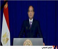 السيسي: مصر وضعت سبلا فعالة لحماية الطبيعة