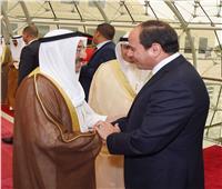 رسالة من الرئيس السيسي لم تصل إلى أمير الكويت الراحل