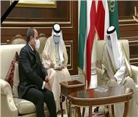 فيديو| أمير الكويت الشيخ نواف الأحمد يستقبل الرئيس السيسي