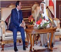 في 4 سنوات.. 7 لقاءات رسمية بين الرئيس السيسي والأمير صباح الأحمد الجابر