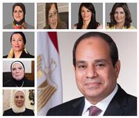 وزارات الكعب العالي.. 8 سيدات يتربعن على كرسي الوزير