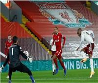 نهاية الشوط الثاني  تعادل سلبي بين ليفربول وأرسنال والاحتكام لضربات الجزاء