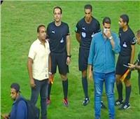 صورة..مشادات بين لاعبي الزمالك والمصري بعد نهاية المباراة