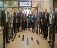 صور| «البنك الأهلي» يفتتح استراحة لعملاء بلاتينوم بمطار القاهرة الدولي