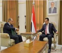 رئيس الوزراء اليمني يشيد بعمق علاقات بلاده مع مصر