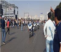 صور  وصول مدير أمن القاهرة إلى المنصة للإشراف على احتفالات نصر أكتوبر