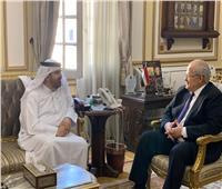 الخشت يلتقي مدير مؤسسة محمد بن راشد للمعرفة لبحث سبل التعاون