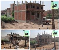 صور| محافظة الجيزة تضع خطة متكاملة لمواجهة مخالفات البناء والتعديات