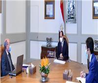 السيسي يبحث مع وزير العدل جهود تطوير منظومة التقاضي وميكنة الخدمات