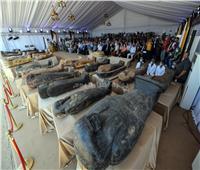اكتشافات بـ«أيد مصرية خالصة».. 59 تابوتا وعشرات التماثيل الأوشابتي والتمائم