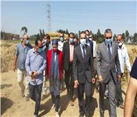وزيرة البيئة ومحافظ الغربية يتفقدان عددا من المواقع بالمحلة وبسيون