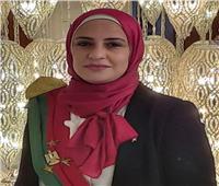شيماء نجم تمثل هيئة النيابة الإدارية في لقاء الرئيس السيسي